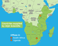 aqa supllied countries africa250